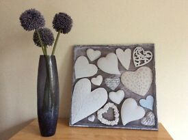 Canvas and Vase