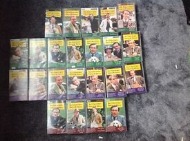 VHS videos from series 1 to 4 of All Creatures Great and Small