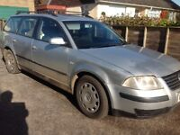 2003 VW Passat estate. 1.9 TDI