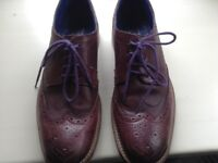 Men's brogues by Ted Baker in size 9