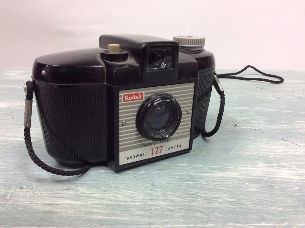 Kodak 127 film camera, 1960s.