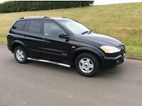 2007 SSANGYONG KYRON 2.0 DIESEL * FULL YEARS M.O.T *