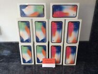 Apple iPhone X 256GB Unlocked Brand New & Sealed