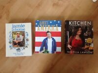Cookery books - Jamie / Nigella