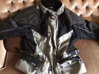 Rukka Goretex Cordura armoured motorcycle jacket