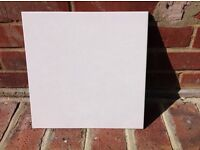 5 boxes of ceramic floor tiles light gray with small flecks