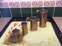 Vintage French Brass Kitchen measures