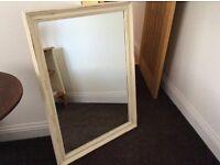 3 x shabby chic mirrors