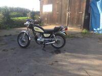 2012 Lexomoto Vixen 125 motorcycle