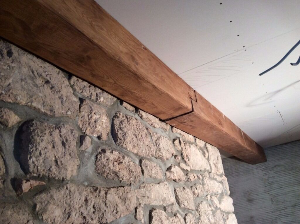 Solid Oak RSJ Cover/Beam Box/Cladding