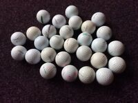 25-30 Golf Balls
