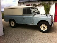 swap land rover series for boat