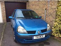 2002 Renault Clio Blue 1.2 Petrol 51,000 Miles!!