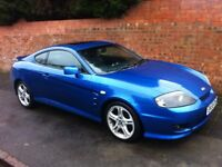 HYUNDAI COUPE SE AUTO, 2005 REG, LONG MOT, FULL HISTORY, TOP SPEC WITH LEATHER INTERIOR & AIR CON