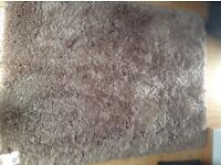 Next Rug New with tags shimmer twist caramel