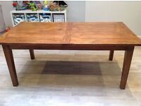 Solid Wood Barker and Stonehouse Dining Table