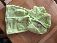 Mothercare girls dressing gown