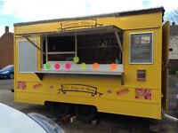 Donut Trailer excellent condition ready to start selling with Hopper and more MUST BE SEEN
