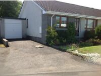 2 Bedroomed semi-detached bungalow, Inverurie.