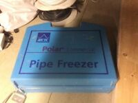 Arctic Polar Commercial Pipe Freezer Kit For Sale.