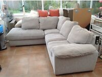 Used grey corner sofa quick sale wanted - no time wasters please