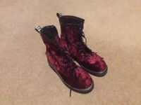 Doc Martin Style Boots