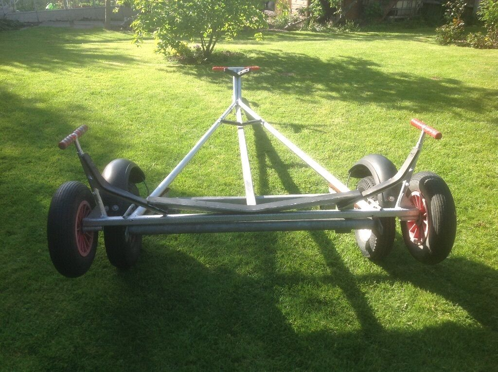 Laser 1 Dinghy Combi Trailer Road Trailer And Launching