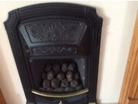 Gas coal effect Fire, fireplace, fire surround, complete