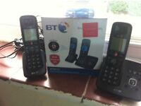 BT 6610 Digital Cordless phone with answer phone