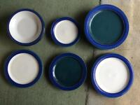 Debby Metz Plates and bowls 4 bowls, 8 dinner plates, 2 side plates