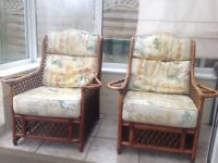 4 X Conservatory chairs