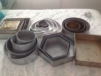 I am selling sets of professional cake tins as well as individual number and novelty tins