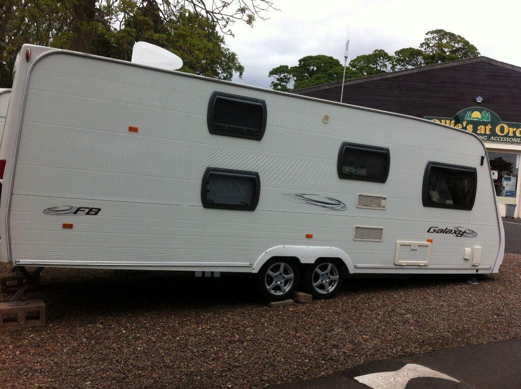 2008 Lunar Quasar Fb 6 Berth Family Caravan Fixed Bunks
