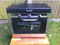 Roast Master Gas Hob & Oven LPG. Camping kitchen Stove Camper Motorhome Conversion Portable
