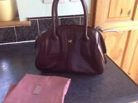 Radley handbag (mulberry colour)