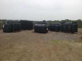 Bunded oil tanks