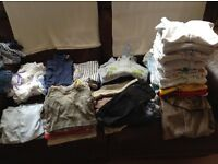 Boys Baby Clothes 0-3 months 85 assorted pieces