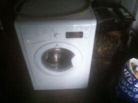 Indesit 9kg load washing machine