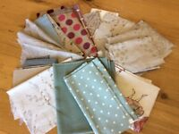 Crafting fabric , odd pieces of fabric for all sorts of quilting etc