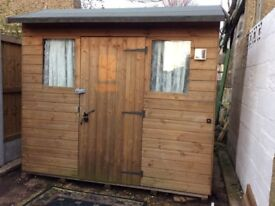 Wooden Garden Shed - 7' x 6'