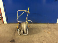 Hozelock Assembled Hose Cart with 50m Hose