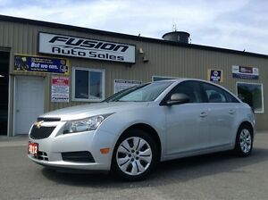 2012 Chevrolet Cruze LS+1 OWNER OFF LEASE-MANUAL-52MPG