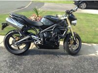 Triumph street triple sell swap cruiser