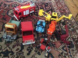 Great Selection of Bob the Builder/Postman Pat and Fireman Sam toys