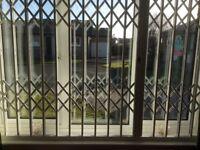 Security window shutters