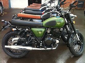 Green Herald Classic 250cc Great twin shock roadster Usually £2,750 for October ONLY £2,310 + OTR