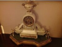 Lovely Victorian mantle clock , perfect working order ,
