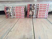 Vampire Knight volumes 1-15