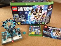 Lego Dimensions Starter Pack for Xbox One in almost new condition - boxed
