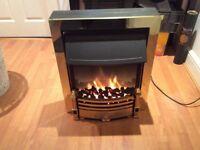 Coal effect electric heater, like new